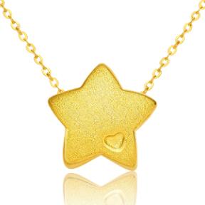 3D硬金-拉丝五角星