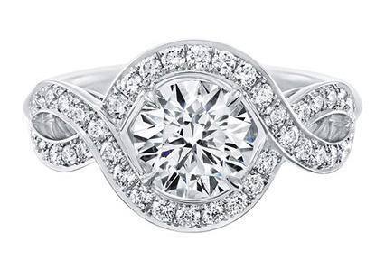 winston钻石戒指