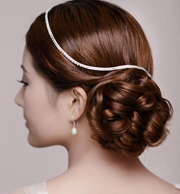 新娘发型怎么弄?新娘盘发发型