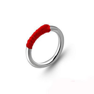 戒指大了缠绳编法图解