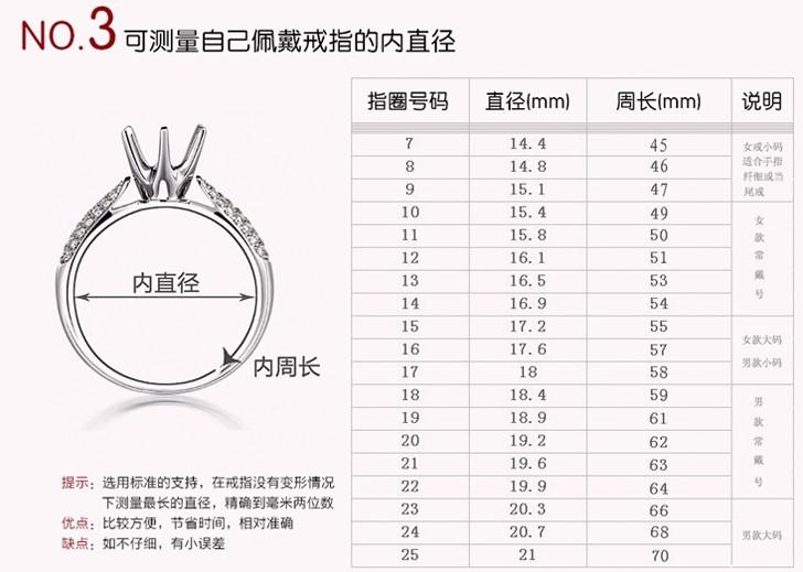 戴戒指怎么量尺寸_如何测量手寸 – 我爱钻石网官网