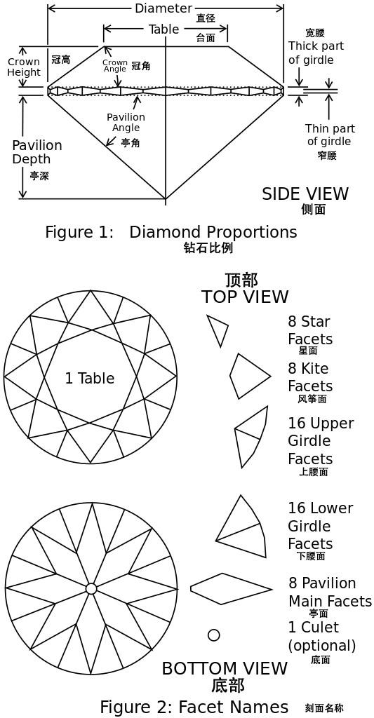 钻石手绘平面图