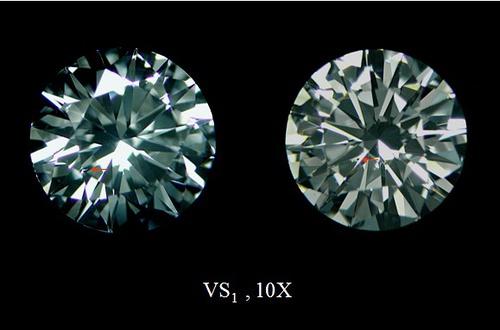 VS1钻石净度