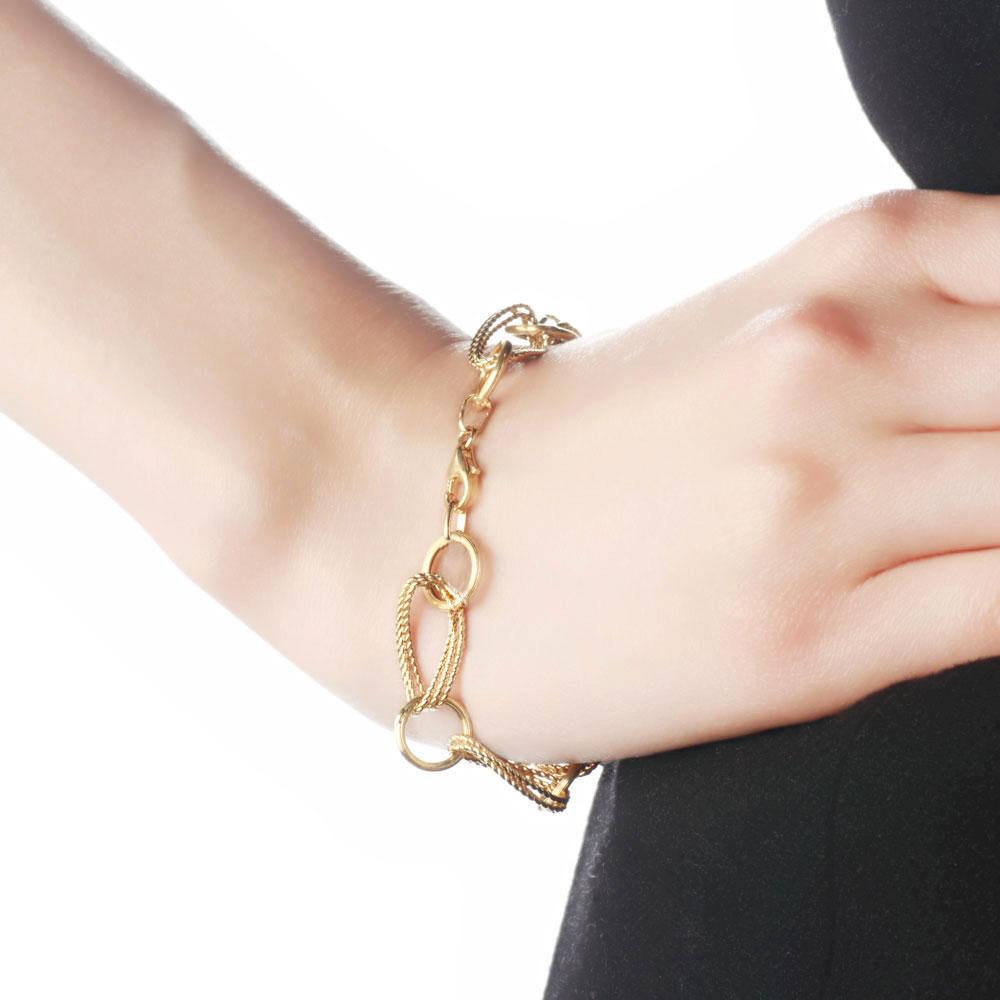 女士黄金手链一般多少克 女士黄金手链款式图片价格介绍20多克的黄金图片