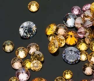 彩色钻石评级 彩钻颜色分级