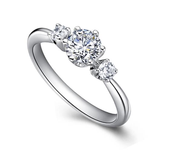 2013年最流行的结婚钻戒款式欣赏