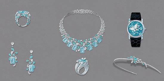 精美手绘                 巴黎珠宝的相关资讯,请多多关注我爱钻石网
