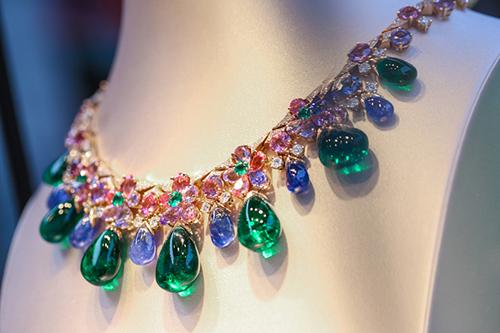 宝格丽意大利花园高级珠宝系列项链