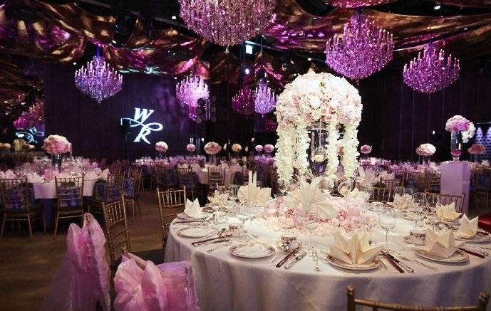 结束巴厘岛婚礼后的霍心(霍建华,林心如)夫妇今天在台北举办归宁宴.