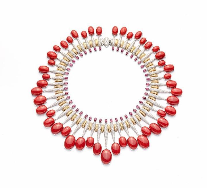 milady_de simone推出 milady珠宝系列:地中海阿卡珊瑚