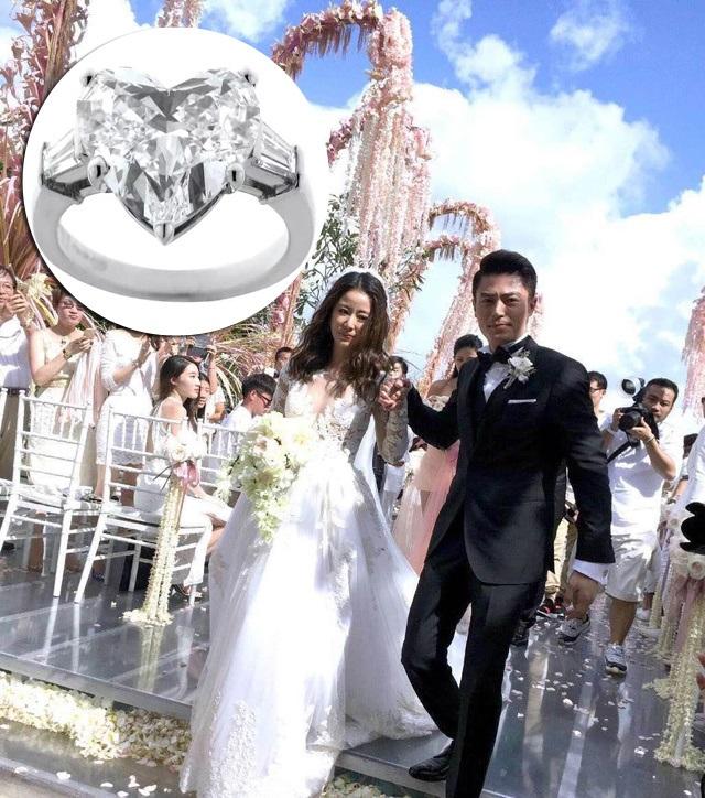霍如(霍建华&林心如)cp少女心爆表新娘婚戒峨眉风云视频图片