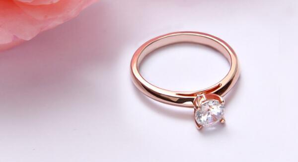 彩金戒指款式图片及价格介绍