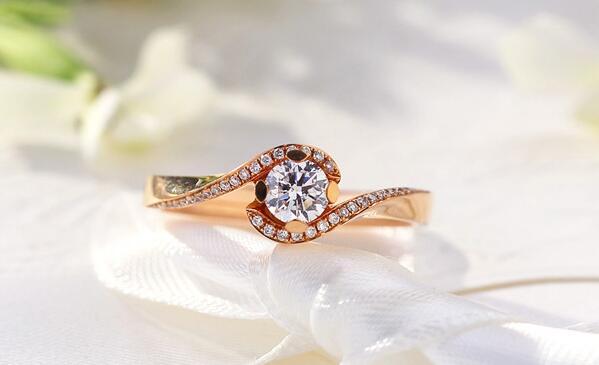 彩金戒指款式图片及价格介绍图片