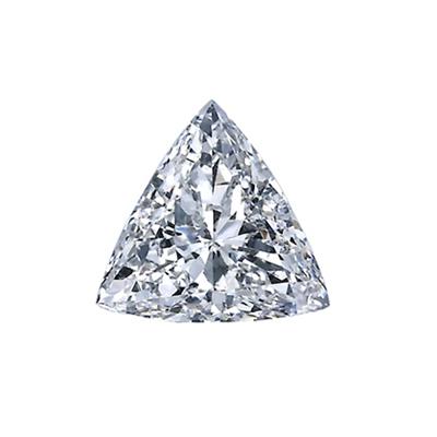 81克拉 f色 si1净度 三角形钻石